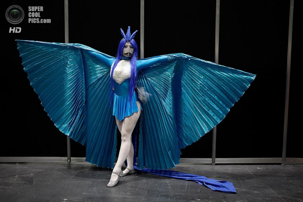 Великобритания. Лондон. 15 марта.  На комикконе London Super Comic Convention 2014. (Mary Turner/Getty Images)