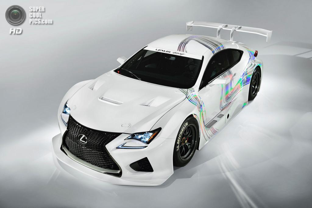 Lexus RC F GT3 Concept. (Toyota Motor Corporation)