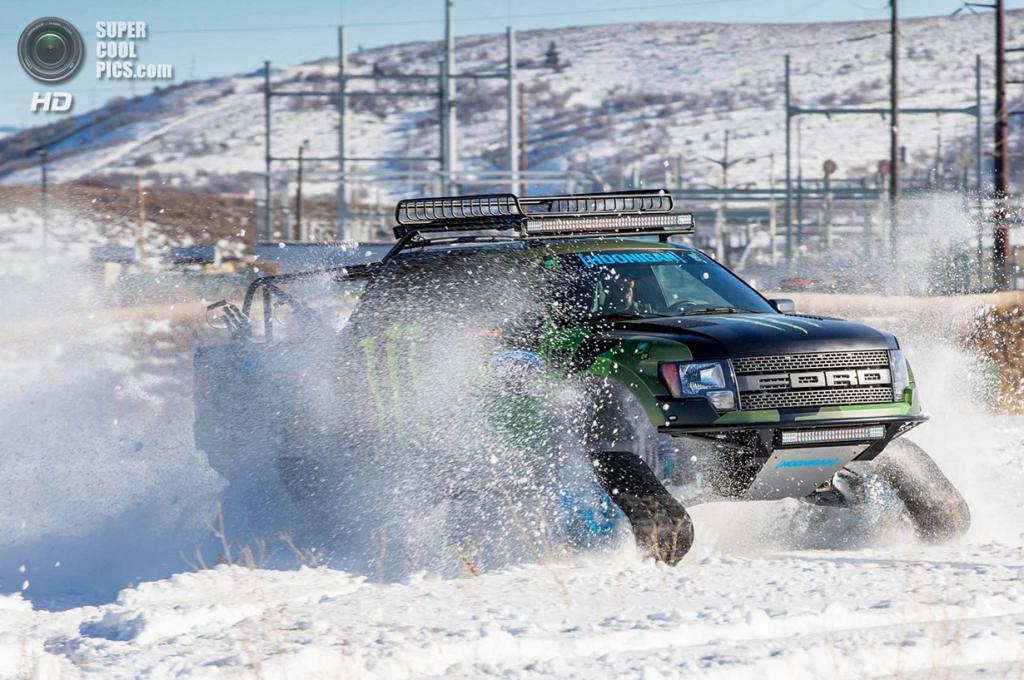 Ford F-150 RaptorTRAX. (Ford Motor Company)