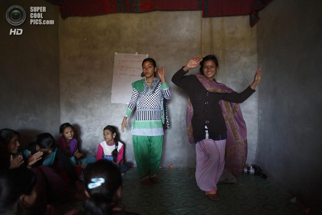 Непал. Ачхам, Западный регион. 17 февраля. (REUTERS/Navesh Chitrakar)