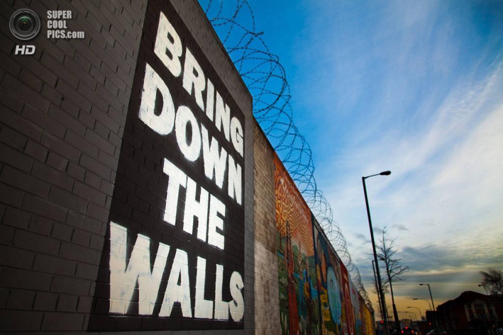 «Ломайте стены». (Curtis Irvine/ESRC)