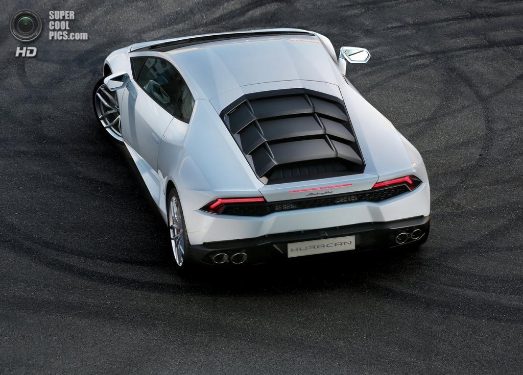 Lamborghini Huracán LP 610-4. (Automobili Lamborghini S.p.A.)
