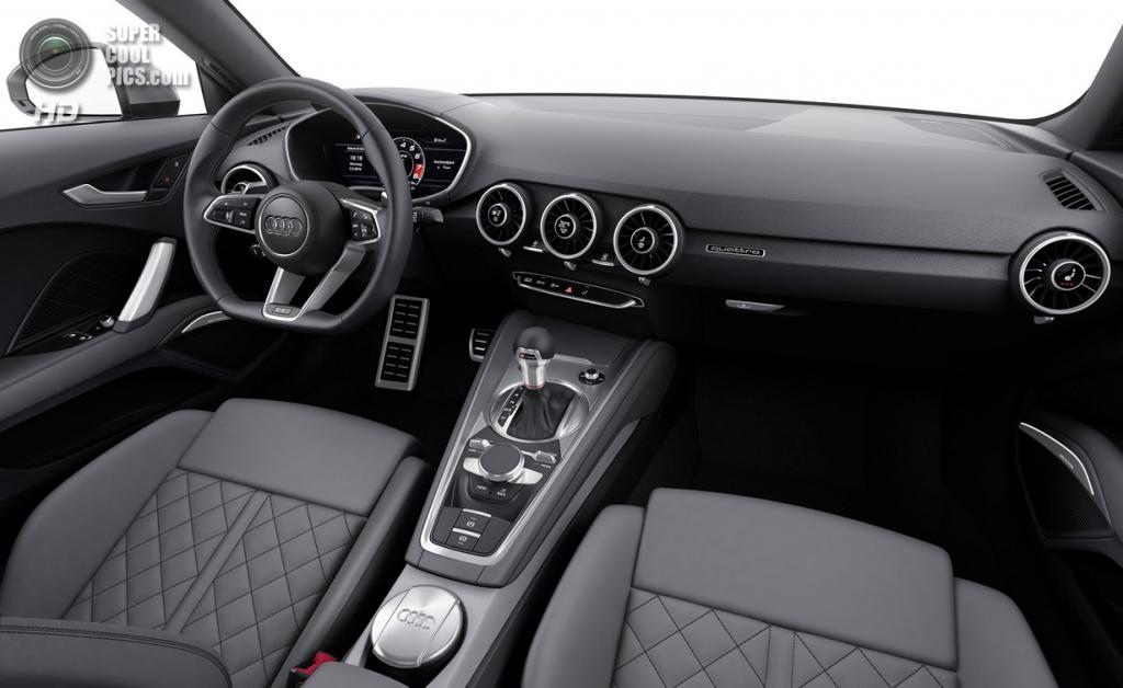 Audi TTS. (Audi AG)