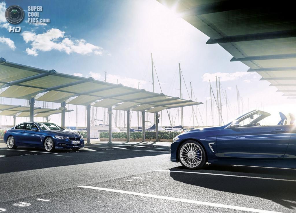 BMW ALPINA B6 BITURBO Gran Coupé и BMW ALPINA B4 BITURBO Cabrio. (ALPINA Burkard Bovensiepen GmbH)
