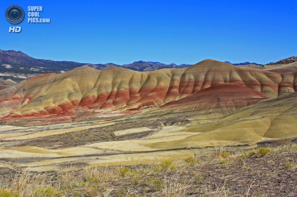 США. Орегон. «Пейнтед-Хиллс» в Государственном заповеднике John Day Fossil Beds. (David Seites)