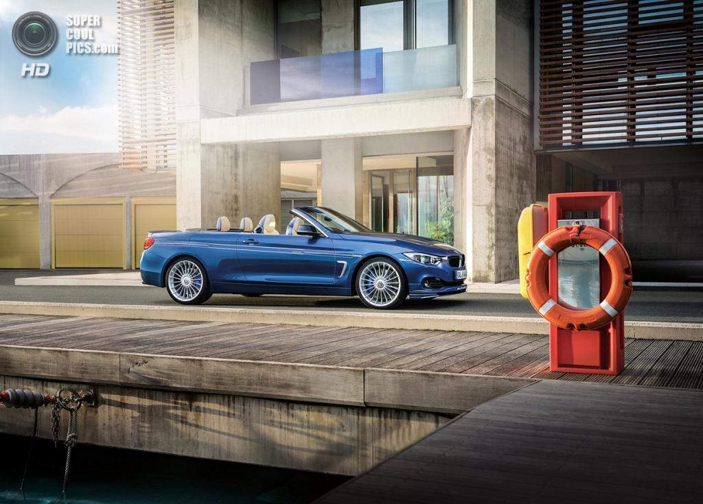 BMW ALPINA B4 BITURBO Cabrio. (ALPINA Burkard Bovensiepen GmbH)