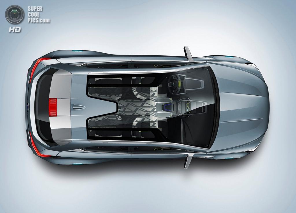 Subaru VIZIV-2 Concept. (Fuji Heavy Industries)