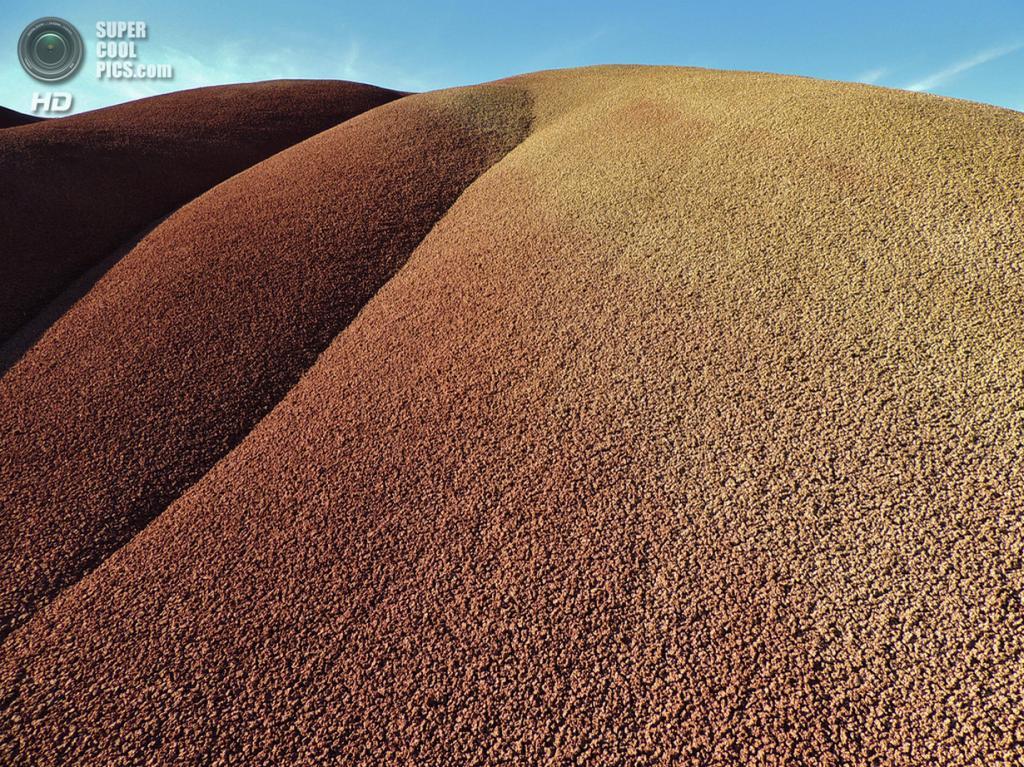 США. Орегон. «Пейнтед-Хиллс» в Государственном заповеднике John Day Fossil Beds. (Brenda Reid Irwin)