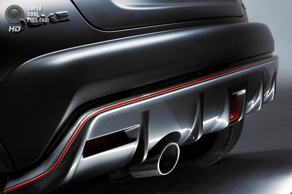 Nissan Juke Nismo RS. (Nissan Motor Co.)
