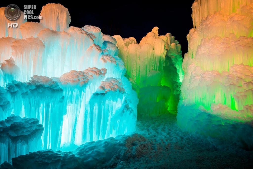 США. Брекенридж, Колорадо. В одном из «Ледяных замков». (Sam Scholes)