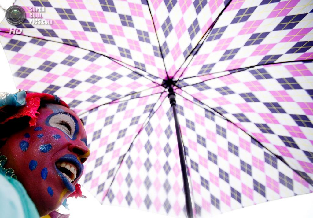 США. Новый Орлеан, Луизиана. 4 марта. Шествие клуба Mondo Kayo. (Sean Gardner/Getty Images)