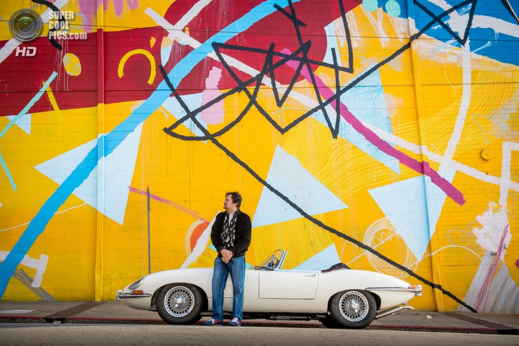 США. Атланта. Jaguar E-Type 1962 года выпуска. (Jamey Guy)