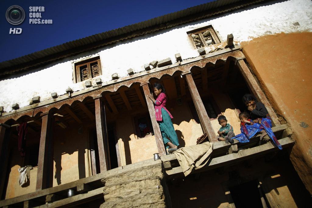 Непал. Ачхам, Западный регион. 18 февраля. (REUTERS/Navesh Chitrakar)
