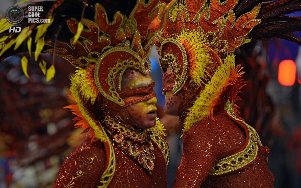 Бразилия. Сан-Паулу. Во время карнавала. (NELSON ALMEIDA/AFP PHOTO)