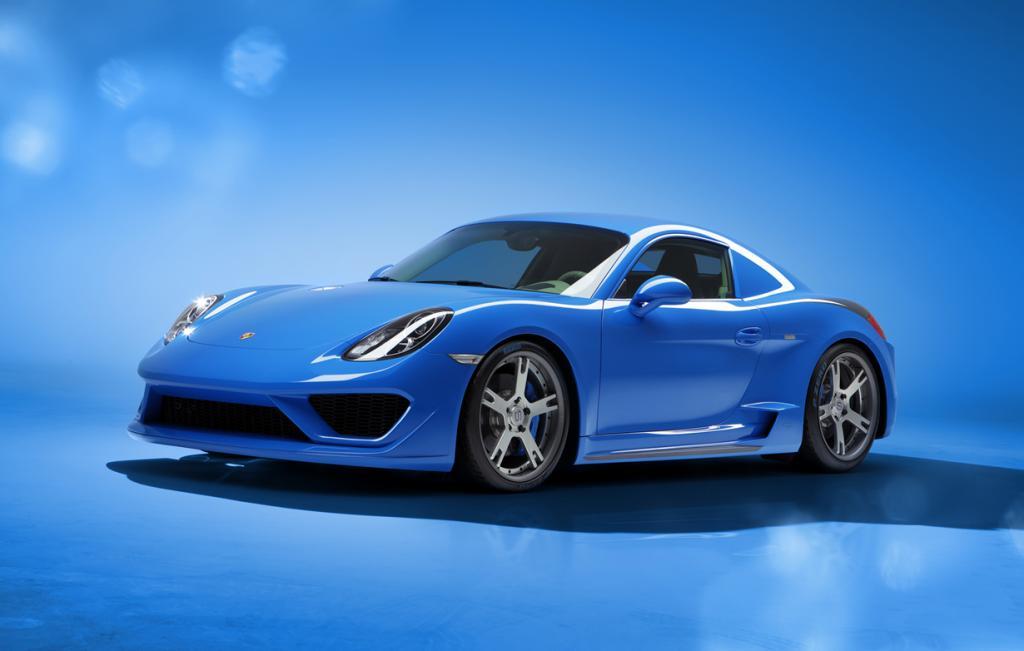 Итальянский взгляд на Porsche Cayman S (12 фото)