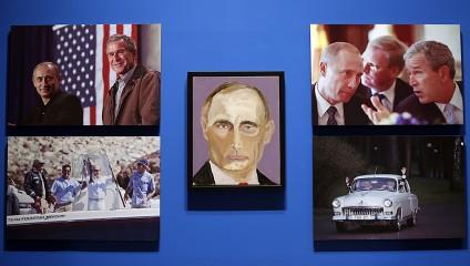 Джордж Буш-младший открыл в себе художника (20 фото)