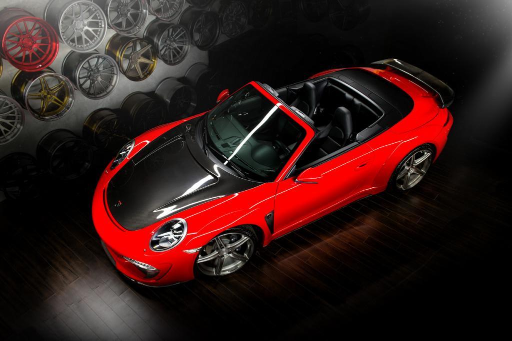 Обновки для кабриолета Porsche 911 от TopCar (10 фото)
