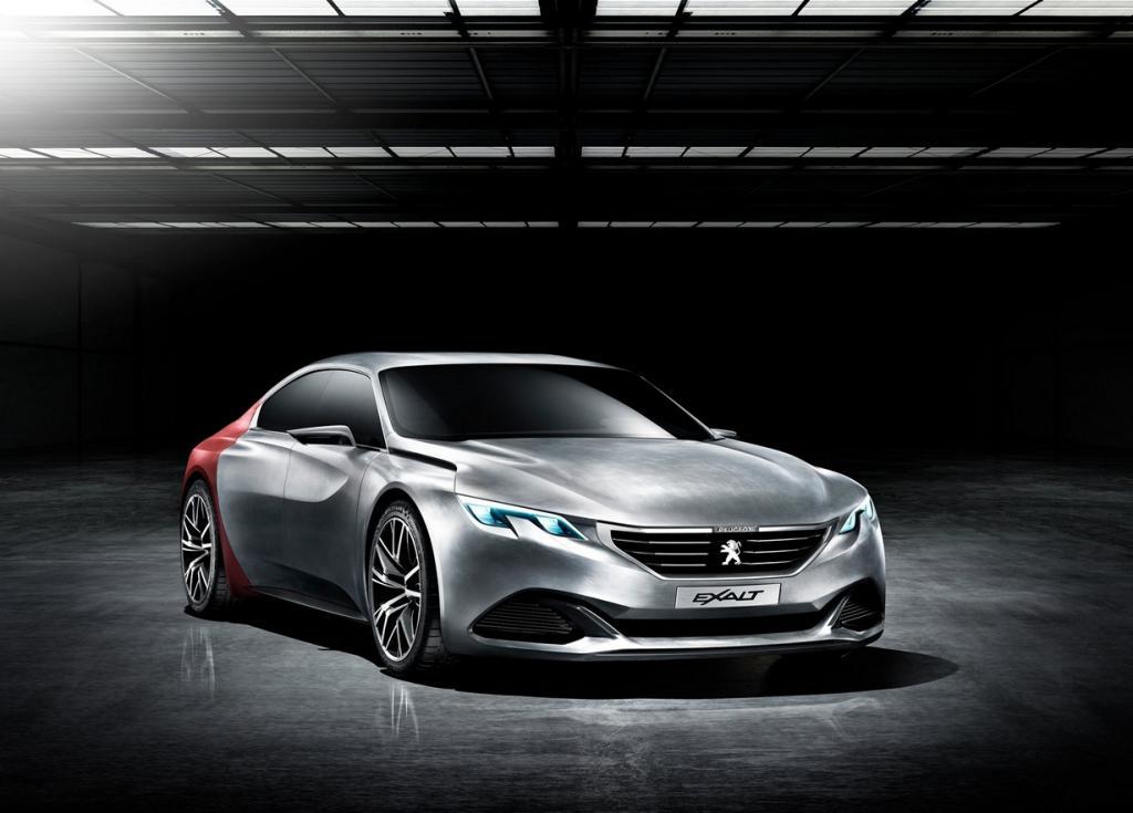 Peugeot Exalt: Ещё один из будущего (22 фото + HD-видео)