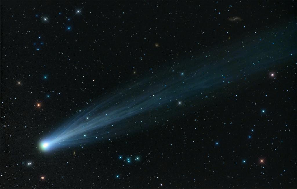 Топ-7 лучших снимков кометы ISON (7 фото)