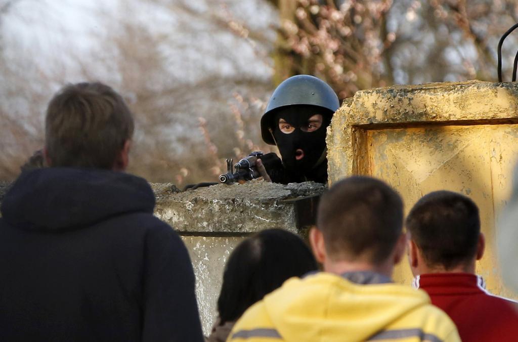 Партизанская война на востоке Украины (35 фото)
