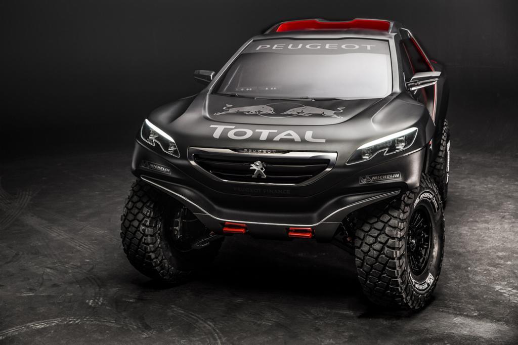Пустынный зверь от Peugeot (5 фото + HD-видео)