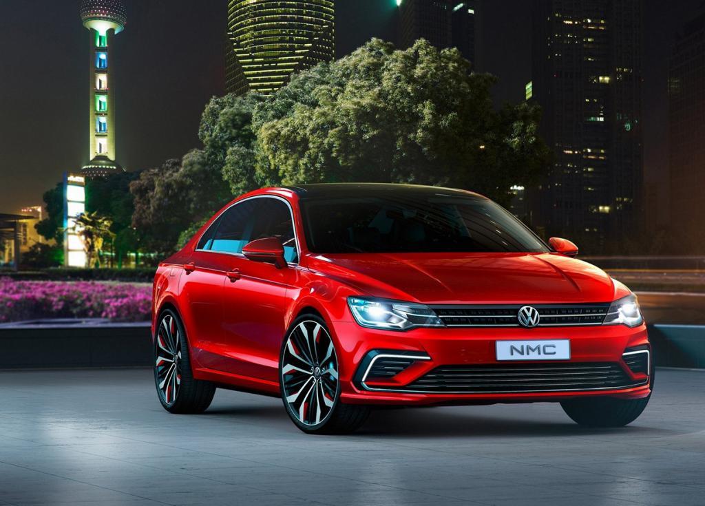 Volkswagen New Midsize Coupé Concept. (Volkswagen AG)