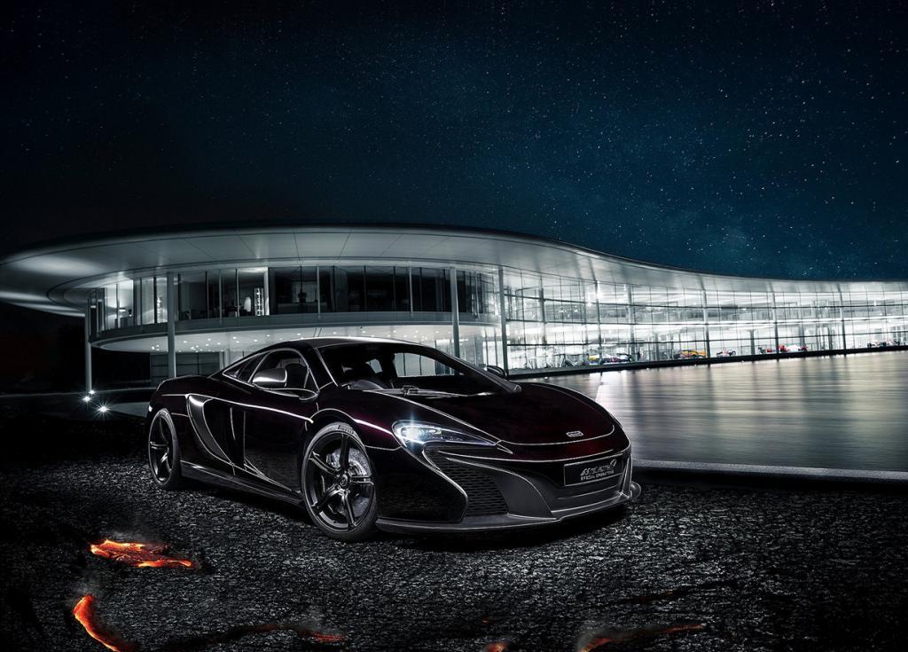 Инфернальный McLaren (7 фото)