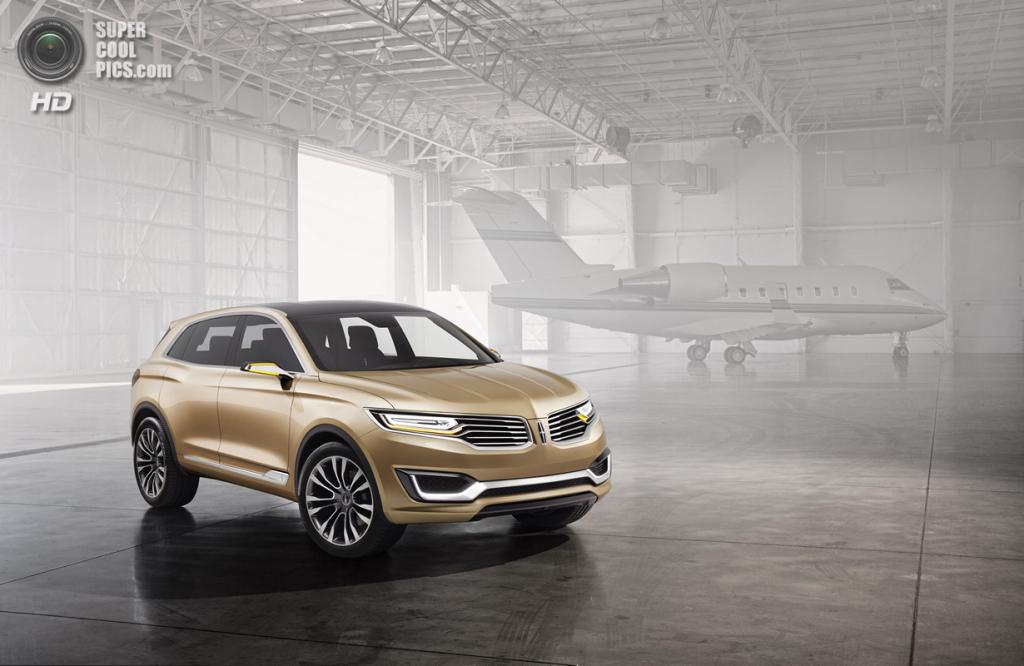 Lincoln MKX Concept. (Ford Motor Company)