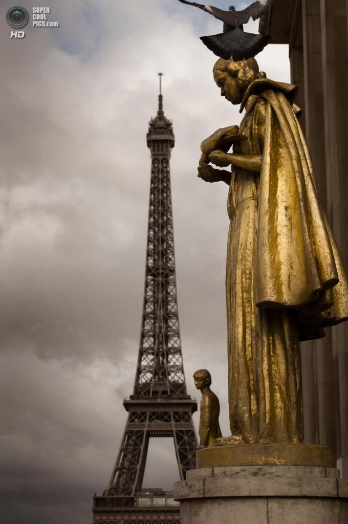 Франция. Париж. Эйфелева башня. (Martin Cauchon)