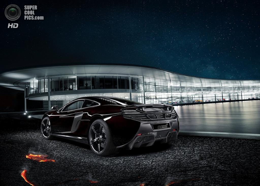 McLaren 650S Coupé MSO Concept. (McLaren Automotive)