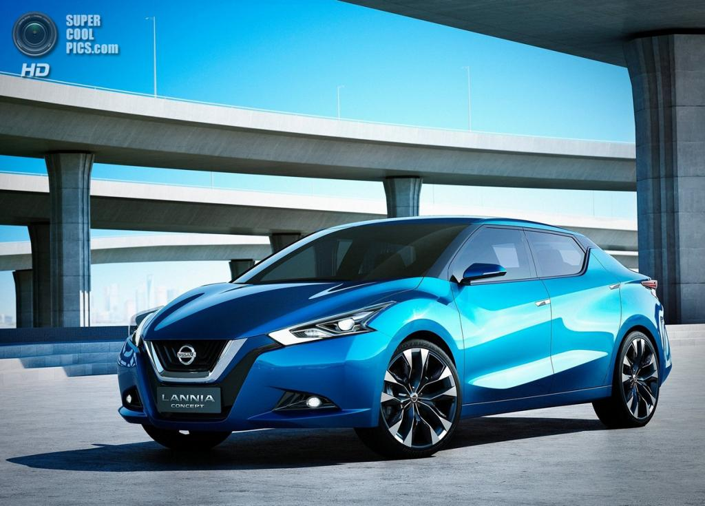 Nissan Lannia Concept. (Nissan Motor Company)
