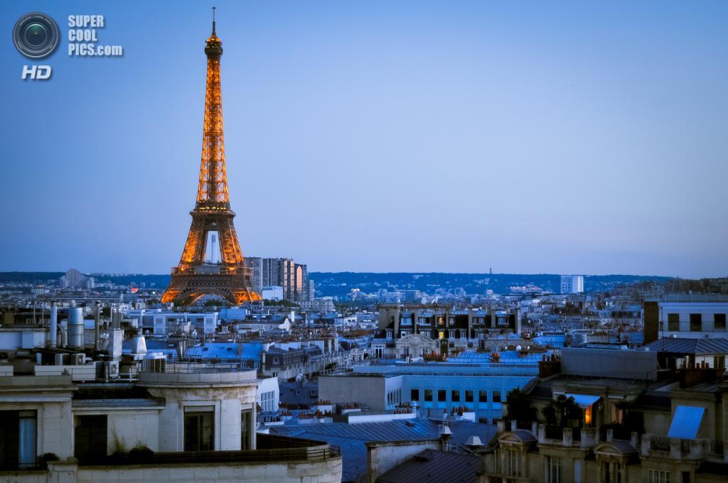 Франция. Париж. Эйфелева башня. (Ros_K Photographie)