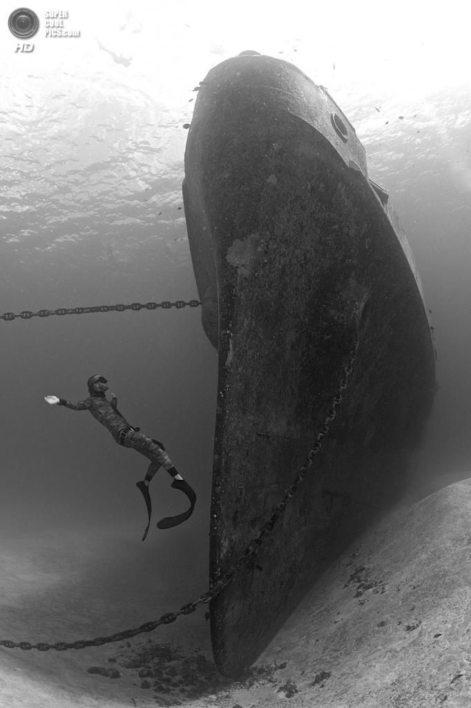 Категория: Wide-angle/Wrecks. 1 место. (Ellen Cuylaerts/UnderwaterPhotography.com)