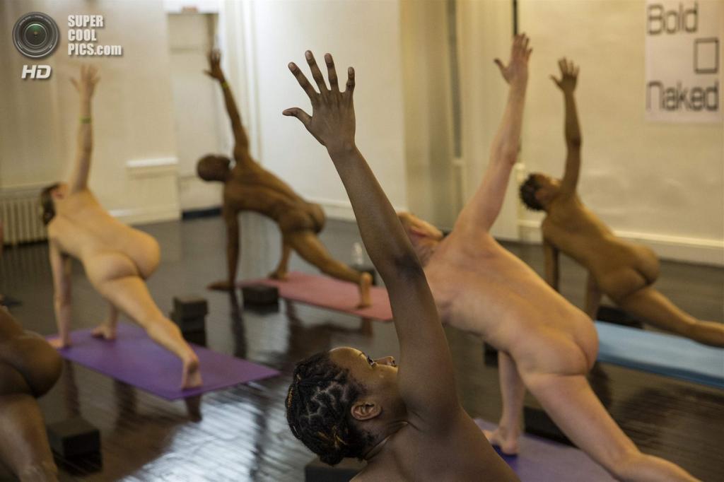 Йога фото голые