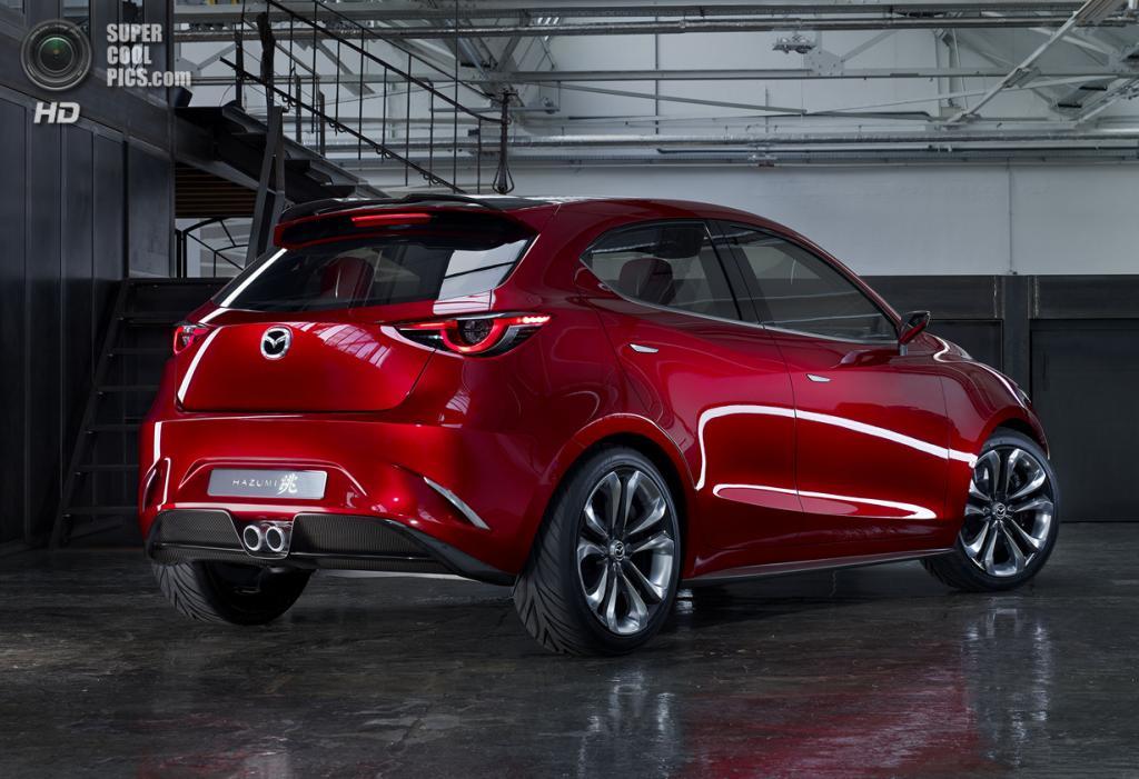 Mazda Hazumi Concept. (Mazda Motor Corporation)