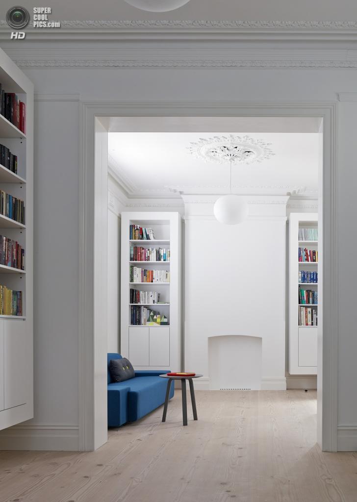 Австралия. Сидней, Новый Южный Уэльс. Частный дом Glebe House, спроектированный Nobbs Radford Architects. (Nobbs Radford Architects)
