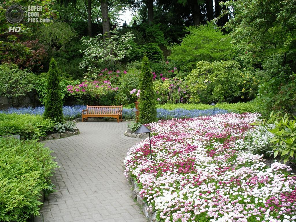 Канада. Брентвуд-Бей, Британская Колумбия. Сады Бучартов. (**Mary**)