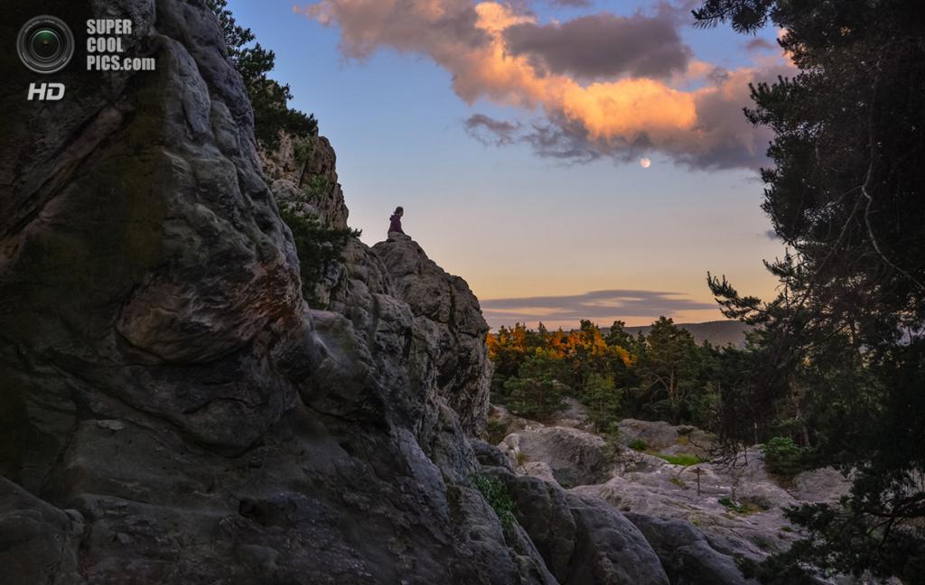 Перерыв на Стене Дьявола в горах Гарц. (David Koester/Smithsonian.com)
