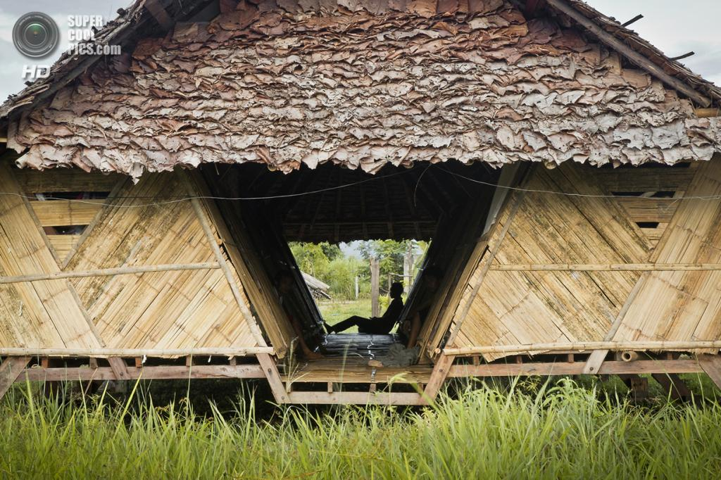 Таиланд. Мэсот, Так. Общежитие для учащихся школы CDC School, в основном — беженцев и иммигрантов из Мьянмы, спроектированное a.gor.a architects. (a.gor.a architects)