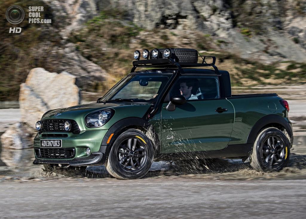 MINI Paceman Adventure Concept. (BMW AG)