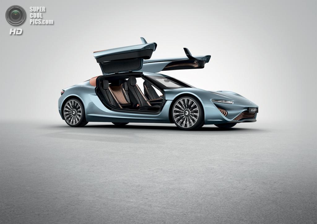 Quant e-Sportlimousine Concept. (nanoFLOWCELL AG)