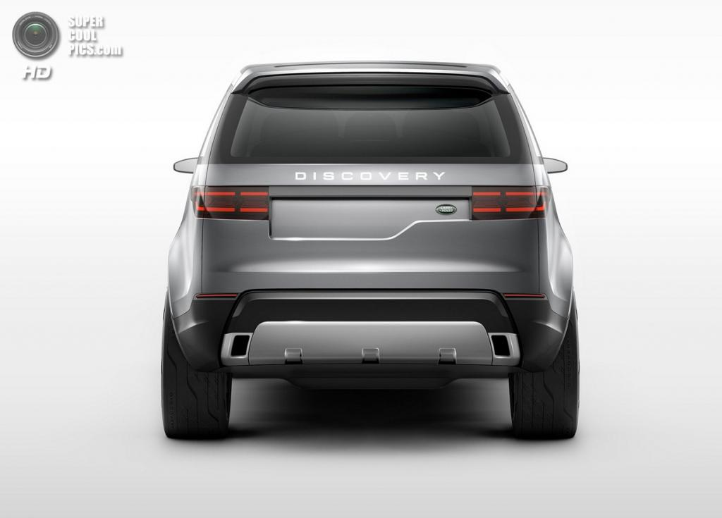 Land Rover Discovery Vision Concept. (Jaguar Land Rover)