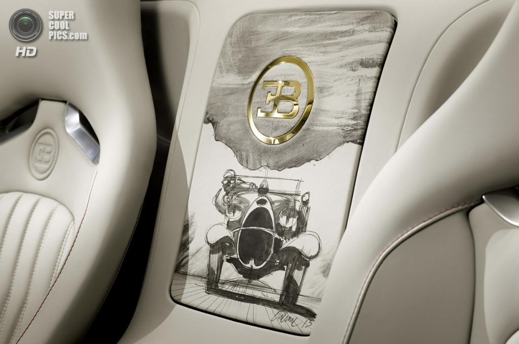 Bugatti Veyron 16.4 Grand Sport Vitesse «Black Bess». (Bugatti)