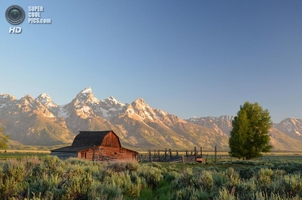 Рассвет в Национальном парке Гранд-Титон. (Michael Faist/Smithsonian.com)