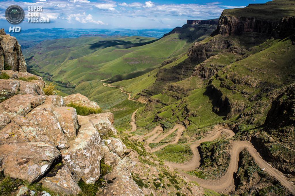 Южная Африка. Сисонке. Перевал Сани в Драконовых горах. (Vaiz Ha)