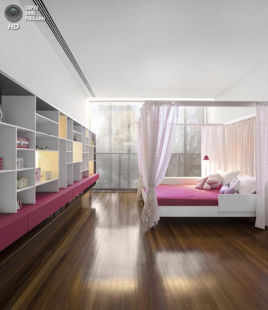 Бразилия. Сан-Паулу. Частный дом The P House, спроектированный StudioMK27. (FG+SG – Fernando Guerra, Sergio Guerra)