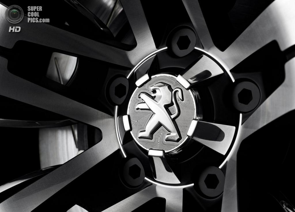 Peugeot Exalt Concept. (PSA Peugeot Citroën)