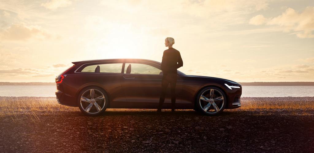Новый дизайнерский язык Volvo на примере Concept Estate (13 фото)