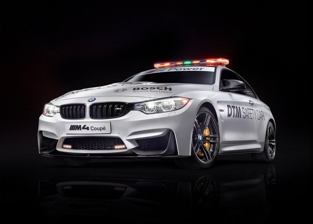 Новый BMW M4 станет пейс-каром DTM (11 фото)