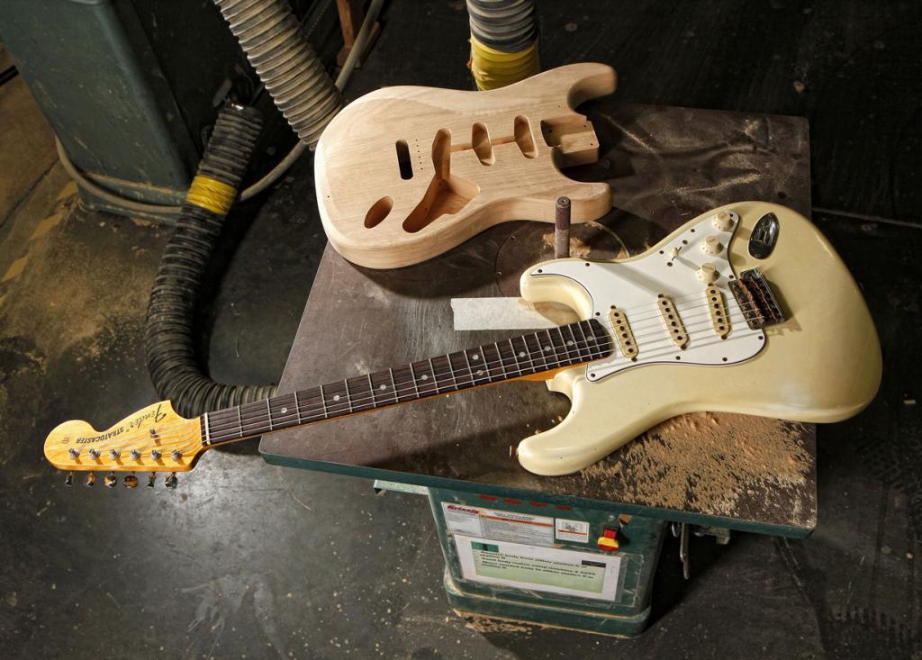 60-летний юбилей Fender Stratocaster (13 фото)